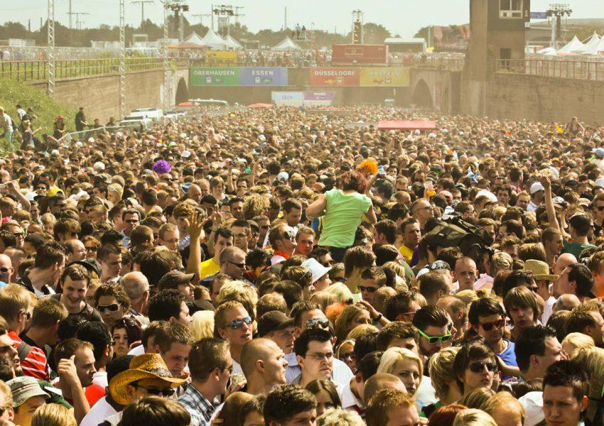 Detecting Anomalous Behavior in Stadium Crowds