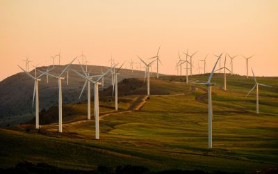Parallel-in-time methods for the propagation of uncertainties in wind-farm simulations