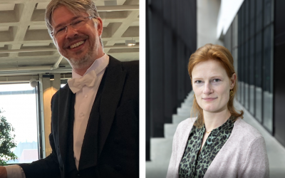 Chris Broekema and Michèle Nuijten winners of the Young eScientist Award 2020