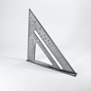 Set square ruler